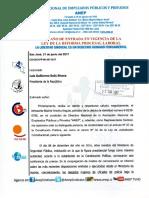 Carta al Presidente Solís-Seccional Anep-Fuerza Publica