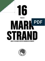 16 Poemas de Mark Strand