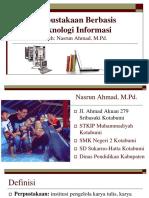 Perpustakaan Berbasis Teknologi Informasi