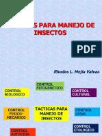 Estrategias de Control de Plagas Semana 06