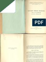 Les XXIV Theses Thomistes, Pour Le 30e Anniversaire de Leur Approbation - Garrigou-Lagrange, Reginald, O.P