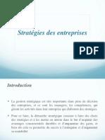 Stratégies Des Entreprises