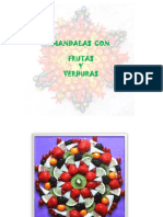 Mandalas Con Frutas