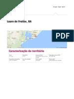 Atlas Desenvolvimento Humano Lauro de Freitas