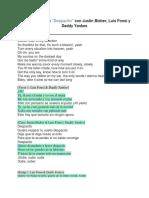 Despacito Lyrics
