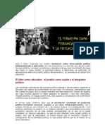 Clase 4 - El Peronismo Como Pedagogía Popular