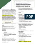 Tiempo de Protombina , Albumina y Perfil Hepatico Valores Normales