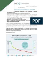 2014 IIPM Boletin Prensa