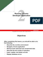 Lección 2 del Curso oficial Oracle Forms 6i