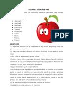 Beneficios y Vitaminas de Las Frutas