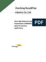 Sbp - Uhmwpe Pipe. Std. Australia PDF
