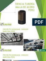 Experiencia Tubería Hdpe Malla de Acero Perú