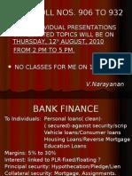 Bank Finance f