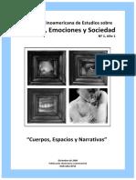 Revista Latinoamericana de Estudios sobre Cuerpos, Emociones y Sociedad-2009-AÑO 1-NÚM 1-Dic-Cuerpos, Espacios y Narrativa-Revista.pdf