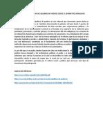 Analisis a La Reforma de Equlibrio de Poderes Desde El Neoinstitucionalismo