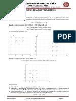 Unidad II - Relaciones Binarias y Funciones-Civil