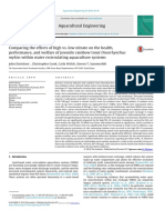 Comparing the Effects of High vs Low Nitrate on the Health, Performance, And Wealfare of Juvenile Rainbow Trout Within Water Recirculating Systems