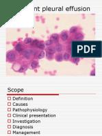 Malignant Pleural Effusion1