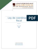 Resumen Cordinacion Fiscal