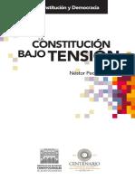La Constitución Bajo Tensión - Néstor Pedro Sagüés