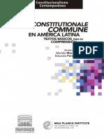 Ius Constitutionale Commune en America Latina - Armin von Bogdandy