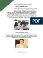 Biografía de Escritores Guatemaltecos