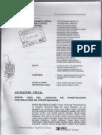 Carpeta de Acusación Fiscal 2010