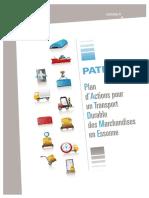 Plan d'Action Pour Un Tport Durable