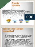 Energía Renovable
