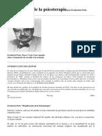 Fritz Perls Preparacion de la psicotrapia .docx