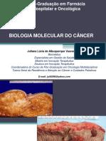 Biologia Molecular Do Cu00c2ncer Prof Juliana Vasconcelos 201703233419
