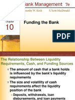 Chapter 10 Funding the Bank