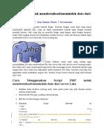 Script PHP Untuk Mendownload