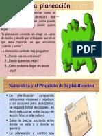 Tema 01 La  Planeacion.ppt