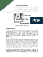 Hornos de Inducción Y Cubilote