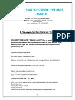 MSPL_Employment Interview Form