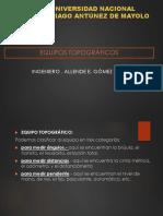 TOPOGRAFIA - EQUIPOS TOPOGRAFICOS.pptx