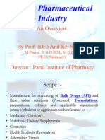 Presentation- Indian Pharmaceutical Industry-2010