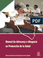 DTA PS Manual de Advocacy en PS