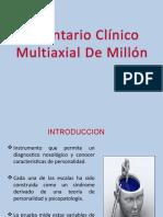 Inventario Clínico Multiaxial de Millón