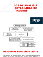 Métodos de Análisis de La Estabilidad de Taludes