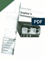SurgiStat II - Service Manual