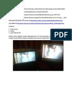 Manual Pengamatan Hilal LiveStreaming Dengan Camera DSLR CANON