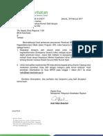 Surat Nomor 2396 Tentang Pemetaan Triase (1)