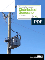 Publications Guide to Connecting a Distributed Generator April 2013