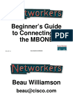 Beginner's Guide to Connecting to the Multicast Internet (MBONE)