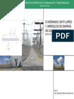 Curso - DIAGRAMAS UNIFILARES Y ARREGLOS DE BARRAS EN SUBESTA.pdf