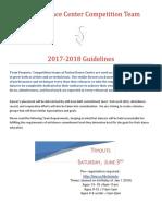 2017-2018 comp team guidlines  2