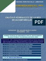 2. Calculo Hidraulico Red Alcantarillado 19 Nov 2016