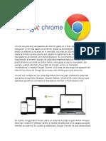 Exposicion de Google Chrome